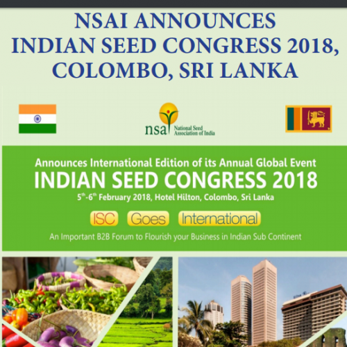 Meenakshi Agro Chemicals takes part in India Seed Conference 2018