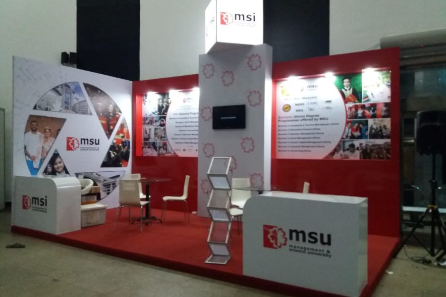Management Science University takes part in Future Minds Education Expo